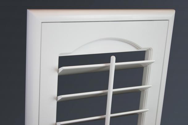 Belair Shutter with Bullnose Frame