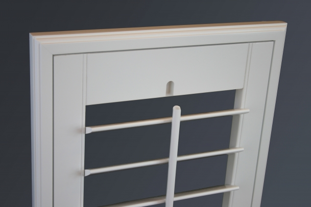 Catalina Shutter with Bevel Frame